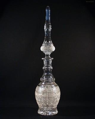 Perská láhev křišťálová broušená 40292/57001/280  2,8l. Tom Crystal Bohemia