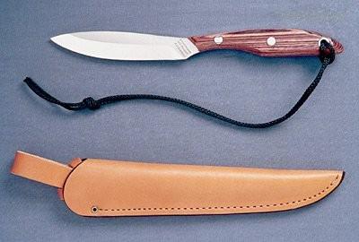 Pevný nůž R2S Trout & Bird, Pstruh & Pták Grohmann