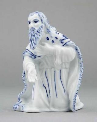 Porcelánová figurka - Král Melichar Český porcelán