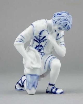 Porcelánová figurka - Ovčák Český porcelán