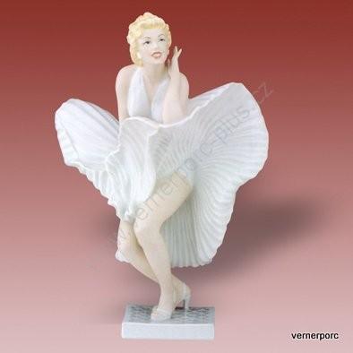 Porcelánová soška Marilyn Monroe Royal Dux Bohemia