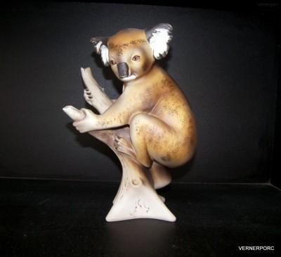 Porcelánová soška - Medvídek Koala Royal Dux Bohemia