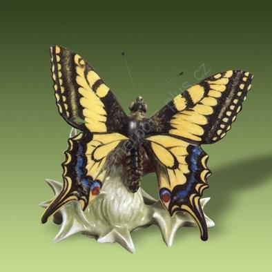 Porcelánová soška otakárek fenyklový Royal Dux Bohemia