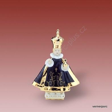 Porcelánová soška Pražského jezulete Royal Dux Bohemia