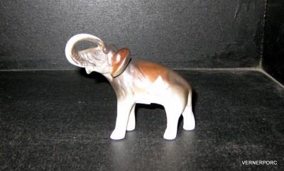 Porcelánová soška - Slon Royal Dux Bohemia