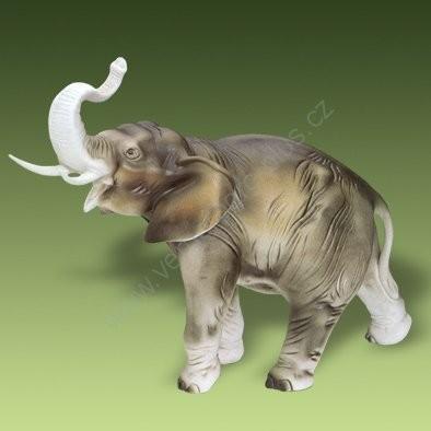 Porcelánový slon Royal Dux Bohemia