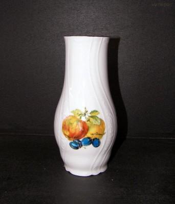 Porcelánová váza Bernadotte, ovoce 19cm Concordia