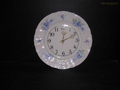 Porcelánové hodiny talířové, Bernadotte 27 cm Concordia