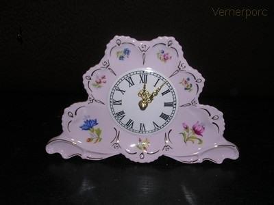 Porcelánové stojací hodiny, 20 cm Thun