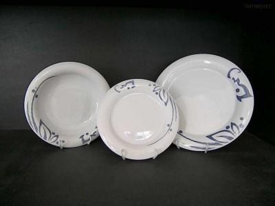 Porcelánové talíře, souprava Catrin 18d. Thun