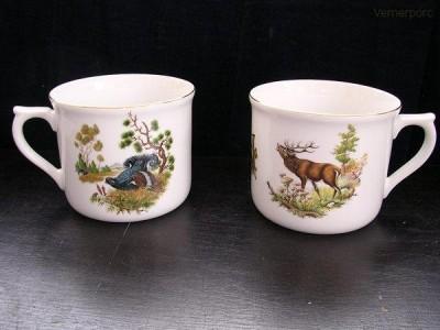 Porcelánový hrnek vařák 0,7 l. 363 2 ks. Leander Loučky