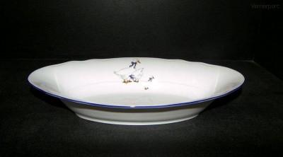 Porcelánový koš na chléb 807 33 cm Leander Loučky