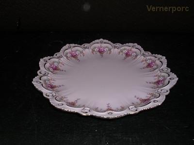 Porcelánový talíř Lenka z růžového porcelánu, 23 cm Thun
