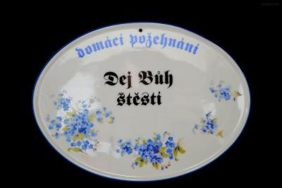Požehnání dekor pomněnky Moritz Zdekauer