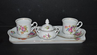 Přátelská souprava kávová Mary Anne 056 7 dílná. Leander Loučky