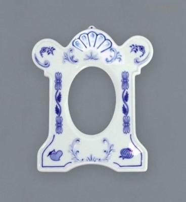 Rámeček na fotografie z cibulového porcelánu Český porcelán