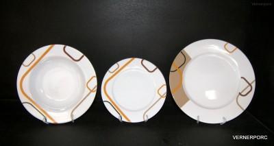 Sada talířů Cairo 18-dílná Thun