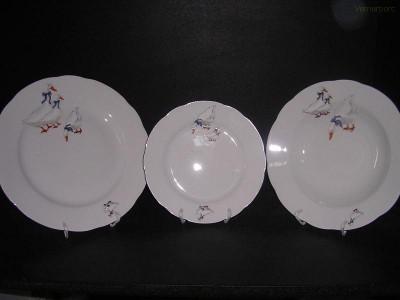Sada talířů Mary Anne 807 18d. Leander Loučky