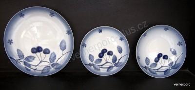 Porcelánové talíře Tom, Blue Cherry Thun