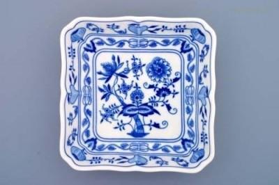 Salátová mísa čtyřhranná 21 cm Český porcelán
