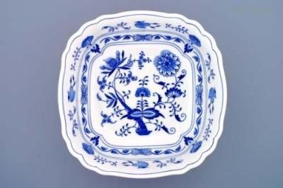 Salátová mísa čtyřhranná italská 26 cm Český porcelán