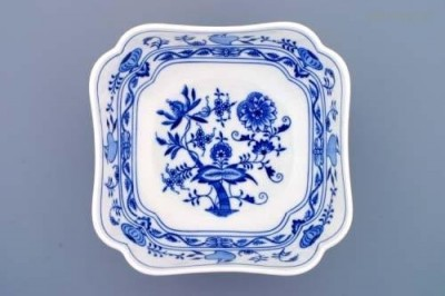 Salátová mísa čtyřhranná vysoká 21 cm Český porcelán