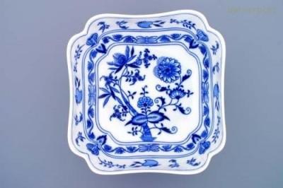 Salátová mísa čtyřhranná vysoká 24 cm Český porcelán