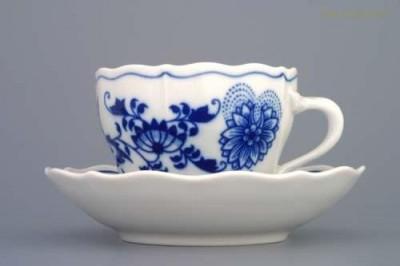Šálek s podšálkem  A2 + B 0,17 l. Český porcelán