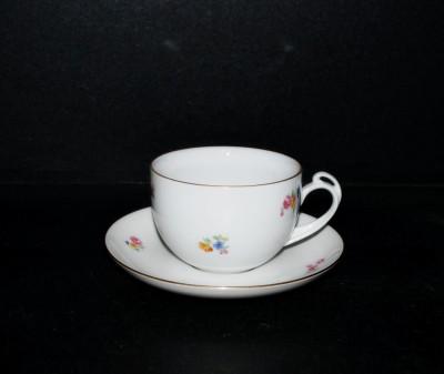 Šálek s podšálkem Clea čaj, dekor házenka 6 ks Thun