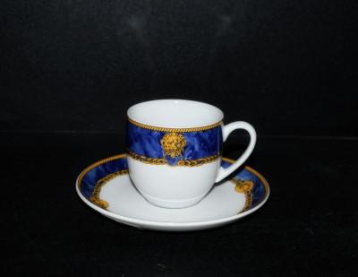 šálek s podšálkem kávový Saphyr 29316 Thun