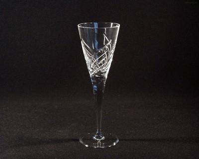 Sklenice broušená křišťál víno 130 ml. 10259/11008/130 6ks. Tom Crystal Bohemia
