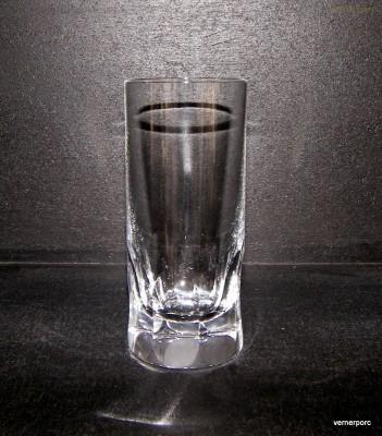 Sklenice Long drink křišťálová ručně broušené plochy 350 ml. 6ks. Sklo Bohemia