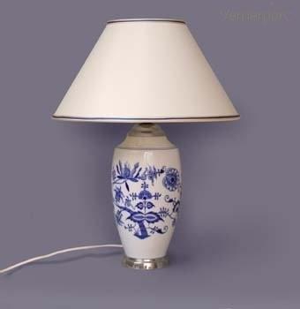 Stolní lampa - hladké stínítko Český porcelán