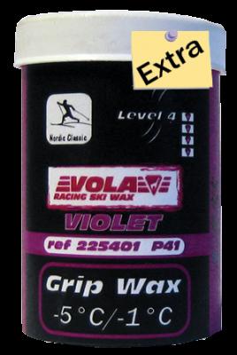 Stoupací vosk STICK P46 EXTRA  fialový 225406 50g. -5°C / -1°C