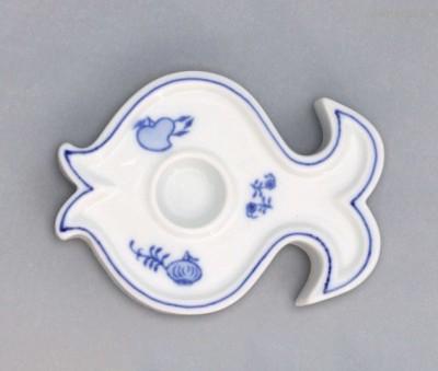 Svícen ryba Český porcelán
