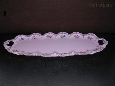 Tác Lenka z růžového porcelánu, 51 cm Thun