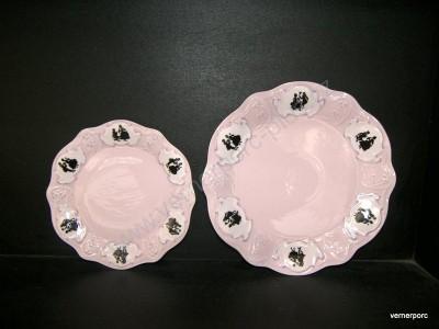 Mělký talíř a dezertní talíř Olga Epiag