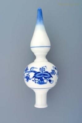 Vánoční ozdoba - špička 22 cm Český porcelán