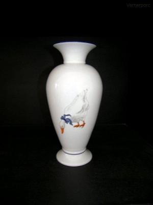 Váza s motivem husy, 30cm Leander Loučky