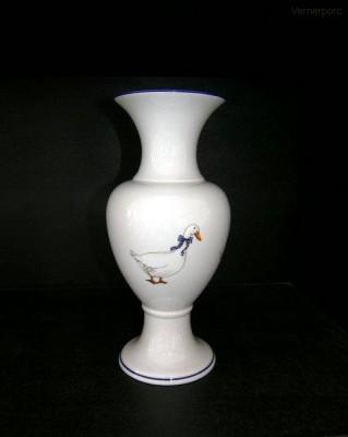 Váza s motivem husy, 31cm Leander Loučky