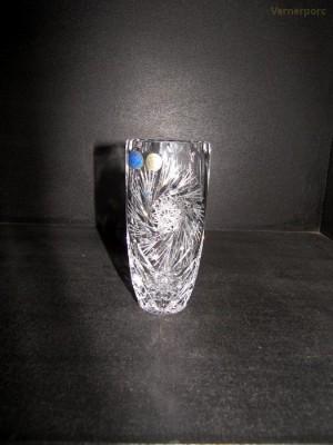 Váza 80747/26008/205  20,5cm. Sklo Bohemia