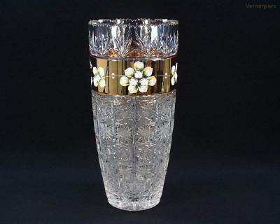Váza 80747/57111/355  35,5cm. Tom Crystal Bohemia