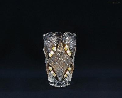 Váza křišťál 80756/51111/205  20,5cm. Tom Crystal Bohemia