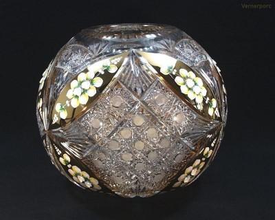 Váza křišťál 88803/51111/310  31cm. Tom Crystal Bohemia