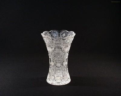 Váza křišťálová broušená 80029/57001/180 18cm. Tom Crystal Bohemia