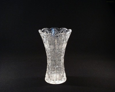 Váza křišťálová broušená 80029/57001/205 20,5 cm. Tom Crystal Bohemia