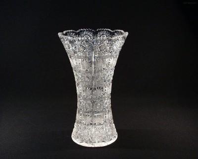 Váza křišťálová broušená 80029/57001/255 25,5 cm. Tom Crystal Bohemia