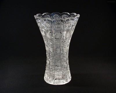 Váza křišťálová broušená 80029/57001/280 28 cm. Tom Crystal Bohemia