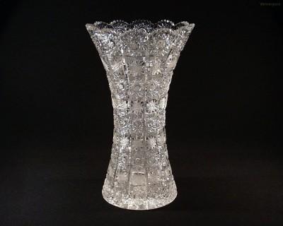 Váza křišťálová broušená 80029/57001/305 30,5 cm. Tom Crystal Bohemia