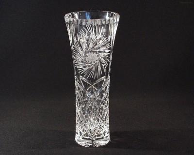 Váza křišťálová broušená 80045/26008/250  25cm. Tom Crystal Bohemia